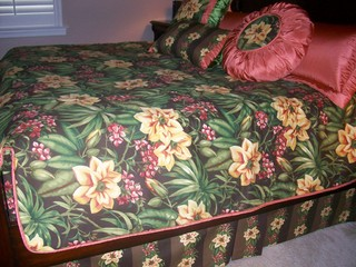 Custom Bedroom Ensemble Susan Nelling Estero and Bonita Springs